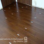 床貼り替えDIY~仮敷から完成まで