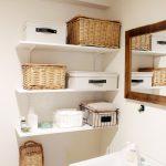 洗面所に棚をDIY。設置方法とスッキリ収納