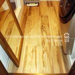 洗面所のリフォームDIY~床材貼り替え完了と悩める収納